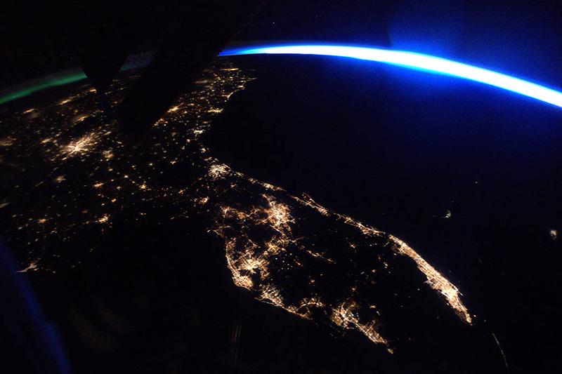 Florida Satellite Image