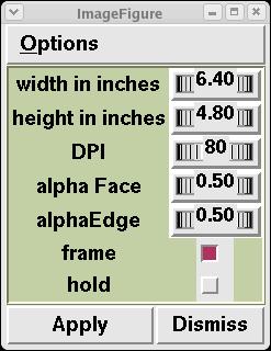 Vision Networks for Matplotlib / pylab - matlab style python